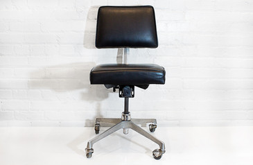 SOLD - Mid-Century Cast Aluminum Task Chair c. 1960