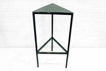 SOLD - Custom Triangle Side Table, 2016
