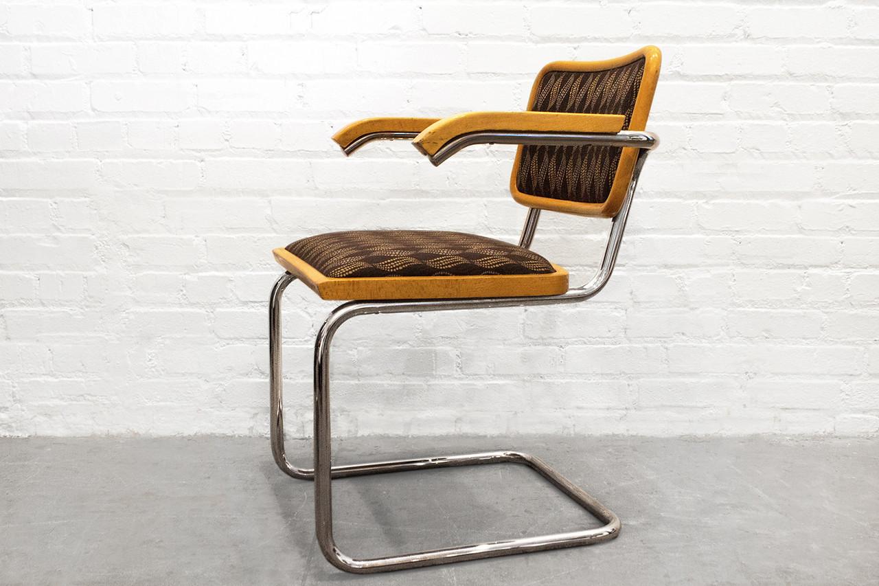 sold set of four marcel breuer cantilever chairs rehab. Black Bedroom Furniture Sets. Home Design Ideas