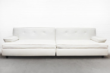 Killer Mid-Century Two-Section Sofa, circa 1960s