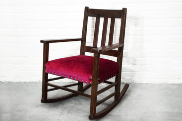 Awesome Craftsman Period Rocking Chair C. 1915