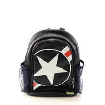 Bobble Art Stars & Stripes Small Poly Vinyl Backpack