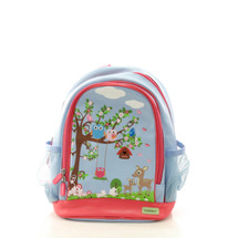 Bobble Art Woodland Small Poly Vinyl Backpack