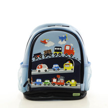 Bobble Art Traffic Large Poly Vinyl Backpack
