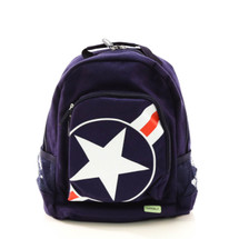 Bobble Art Stars & Stripes Canvas Backpack