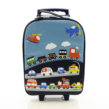 Bobble Art Traffic Wheeled Suitcase
