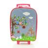 Bobble Art Woodland Wheeled Suitcase
