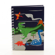 Bobble Art Dinosaur Notebook