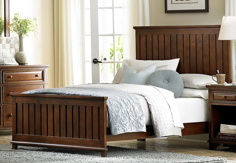 The Panel Bed, By Contrast, Incorporates Country Style Details. The Panels  Incorporate Vertical Plank Design, With An Effect Similar To Beadboard. It  Can ...
