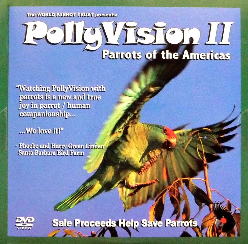 Cover of the book: DVD - PollyVision II: Parrots of the Americas