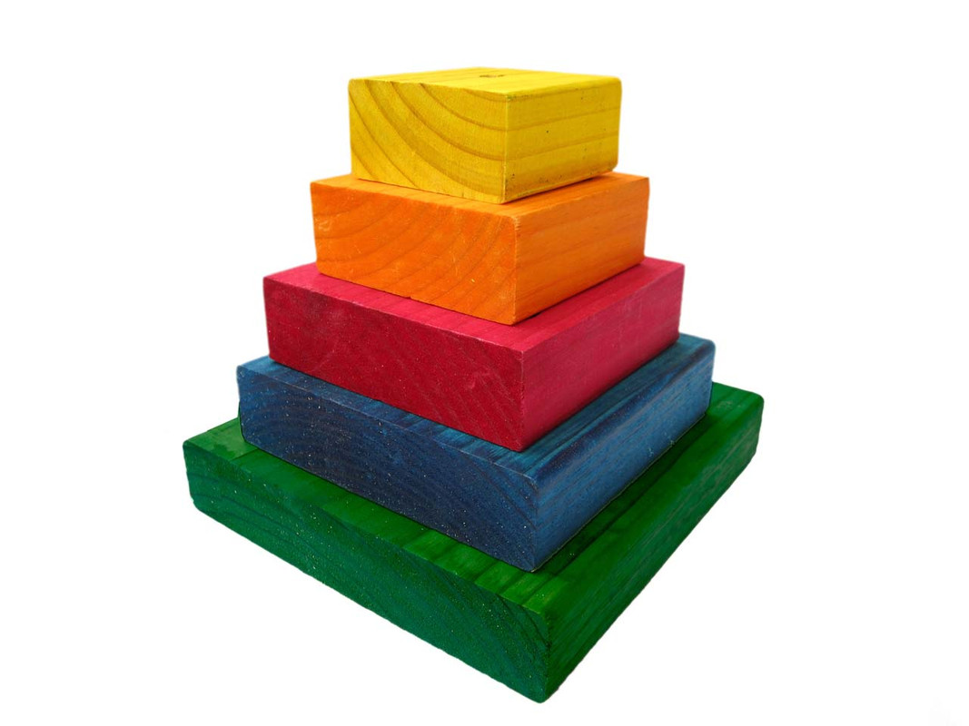 Food Pyramid Large - Refill Layers