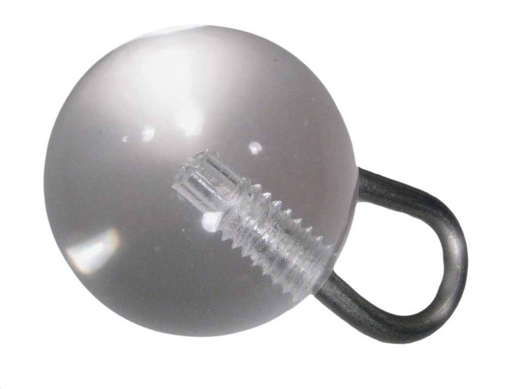 Large Ball Stainless Steel Toy Hanger