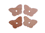 Leather Butterflies - Pack of 4