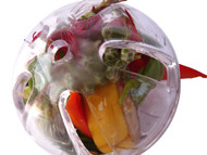 Buffet Ball foraging toy stuffed with goodies