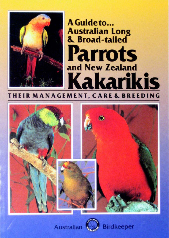 Cover of the book: ABK Australian Long and Broad-Tailed Parrots and Kakarikis