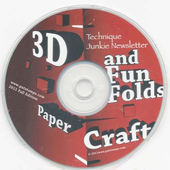 3D and Fun Folds CD
