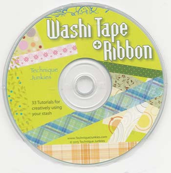 CD WT - Washi Tape + Ribbons CD