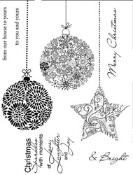 SS055 Christmas Ornaments