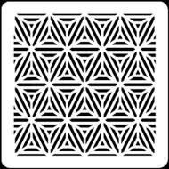 "6"" x 6"" -  Stars & Stripes Stencil A Colorful Life"
