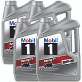 Mobil 1 Racing 4T 10W-40 4L Carton (4 x 4L)