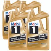 Mobil 1 0W-40 5L Carton (4 x 5L)