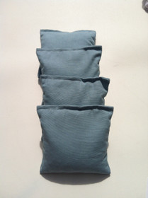 4 Light Blue Cornhole Bags