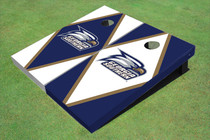 Georgia Southern University Head Logo Alternating Diamond Custom Cornhole Board