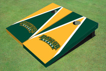 Baylor University Arch Alternating Triangle Custom Cornhole Board