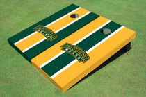 Baylor University Arch Alternating Long Stripe Custom Cornhole Board