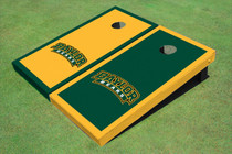Baylor University Arch Alternating Border Custom Cornhole Board