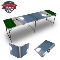 Big Golf Ball 8ft Tailgate Table