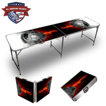 Black Sports Cars 8ft Tailgate Tables