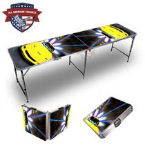 Corvette Yellow 8ft Tailgate Table