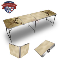 Deer In Grass 8ft Tailgate Tables