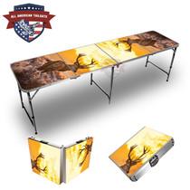 Deer Sunset 8ft Tailgate Table