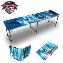 Dolphins 8ft Tailgate Tables