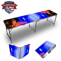 Fish & Reef #3 Themed Tailgate Table