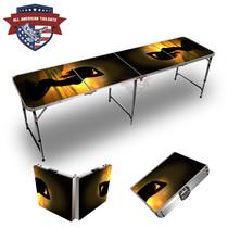 Girl Sunset 8ft Tailgate Table