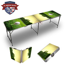 Golf Tee Sunset 8ft Tailgate Table