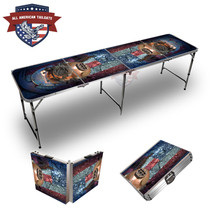 Naval Helmet 8ft Tailgate Table