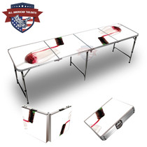 Red Wine 8ft Tailgate Tables