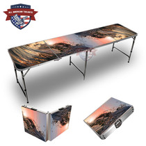 Wave Curl 8ft Tailgate Table