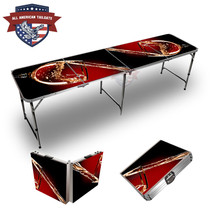 Wine Glass 8ft Tailgate Table