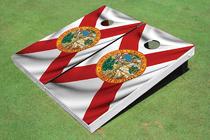 Florida State Flag Custom Cornhole Board
