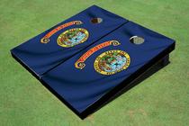 Idaho State Flag Custom Cornhole Board