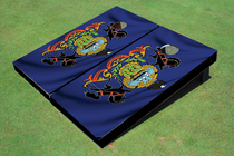 North Dakota State Flag Custom Cornhole Board