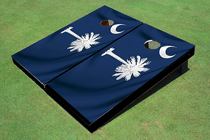 South Carolina State Flag Custom Cornhole Board