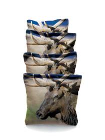 4 Elk #1 Custom Cornhole Bags