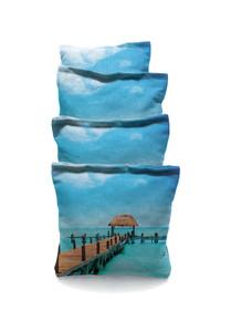 4 Long Dock Custom Cornhole Bags