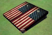 Refurbished - American Flag Cornhole Board set